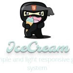 Simple and Lightweight Responsive Grid System – IceCream