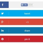 Responsive Sliding Social Media Buttons with Pure CSS3
