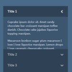 Creating A Stylish Accordion Menu with Pure CSS