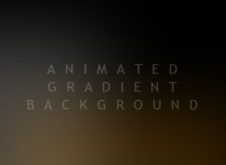 Animated gradient background with pure css css script - Css div background ...