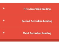 Smooth Responsive Accordion Widget With JS and CSS3
