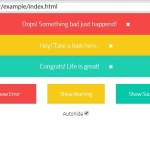Animated Top Notification Bar with Angular.js and CSS3