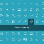 70+ Pure HTML/CSS UI Icons – icono