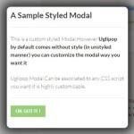 Lightweight Customizable Modal & Lightbox JS Library – Uglipop.js