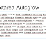 JavaScript Library For Auto-grow Textarea Based On Its Content