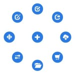 Lightweight JavaScript Round Menu Library – radial.js