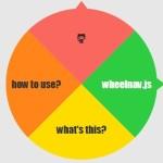 Animated SVG Based Wheel Menu – wheelnav.js