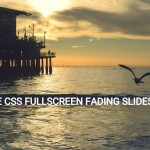 Fullscreen Fading Slideshow with Pure Html / CSS