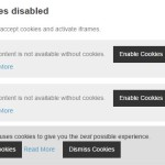 JavaScript Library For Blocking Third-party Cookies Installed By JS – cookies-enabler.js
