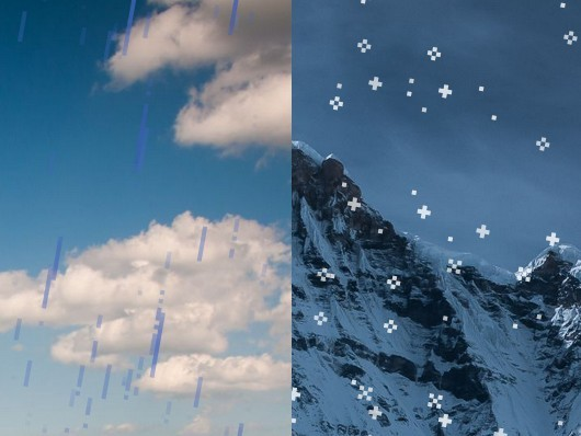 Create Rain Amp Snow Falling Effects Using Css3 Weather