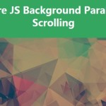 Simple Background Parallax Scrolling with Pure JavaScript