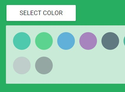 Tiny JavaScript Color Picker Library – piklor.js