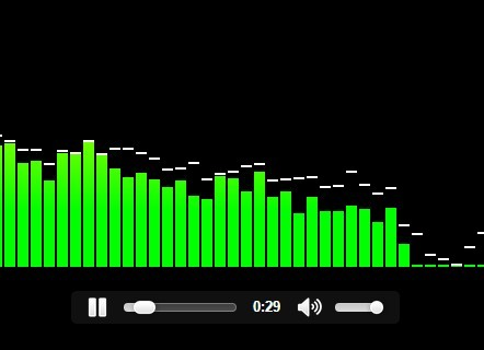 Audio Visualizer With Html5 Audio Element Css Script