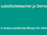 substituteteacher.js