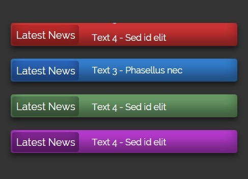 News Ticker Elements HD with Alpha by GreatOne   VideoHive