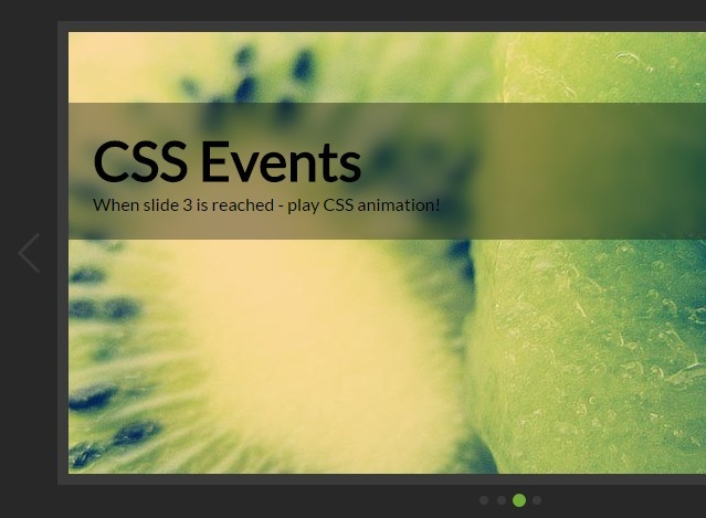 how to create image slider in html and css