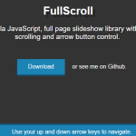 Smooth Fullscreen Page Slideshow With Vanilla JavaScript – FullScroll
