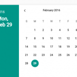 Material Design Date Time Picker In Vanilla JavaScript