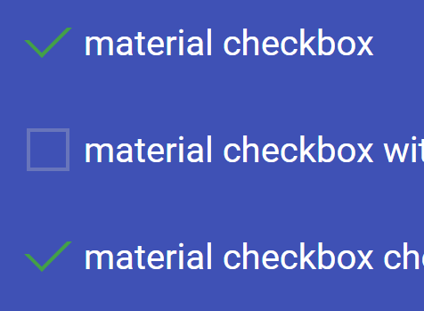 Animated Material Design Checkbox With Css Css3 Css Script