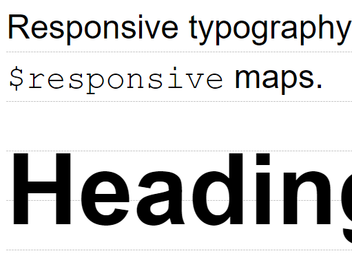 sass library for typography with perfect vertical rhythm shevy css script