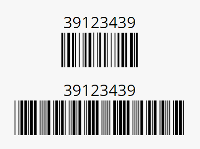 how to create a barcode based on a code
