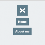 Pure CSS/CSS3 Hamburger Toggle Menu