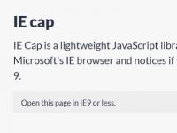 IE Cap