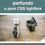 Pure CSS Animated Image Lightbox / Gallery – Perfundo