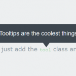 Minimalist CSS3 Animated Tooltip Library – Tooltip.css