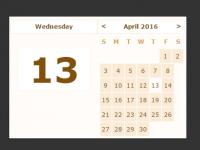 vanilla-js-calendar