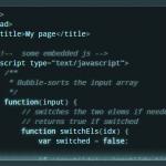 Lightweight Syntax Highlighting Library – microlight.js