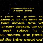 Create Star Wars Intro Crawl With Pure CSS – starwarsintro.css