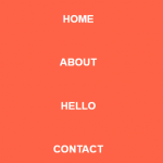 Pure CSS / CSS3 Fullscreen Hamburger Menu