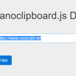 Lightweight Copy To Clipboard Library – nanoclipboard