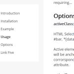 Sticky JavaScript In-page Navigation Plugin – Navigator.js