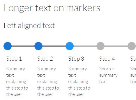 Pure CSS/SASS Progress Tracker