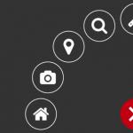 Radial Popup Menu With JavaScript And CSS3 –  circleMenu