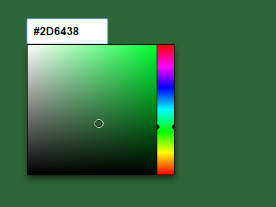 Powerful Color Picker Component With Pure JavaScript – color-picker.js