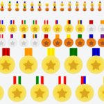 Create Flat Medals With Ribbons Using Pure CSS / SCSS – Badgerly