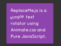 ReplaceMe.js