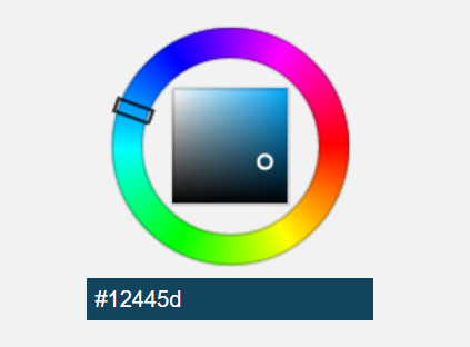 Canvas Based HTML5 HSV Color Picker Component
