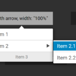 Configurable Multi-level Dropdown Menu Library – Contextmenu