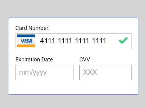 Minimal Credit Card Input Validation Library – creditCardValidator.js