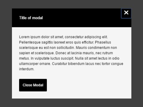 Lightweight Modal Window With Vanilla JavaScript And CSS/CSS3
