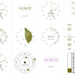 Canvas Based Clock JavaScript Library – CanvasClock