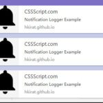 JavaScript Library To Display Console Logs In Desktop Notifications – Notification Logger