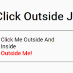 Handling Click Outside Event In Pure JavaScript – click-outside.js