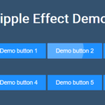 Material Design Ripple Click Effect In Vanilla JavaScript – ripple.js