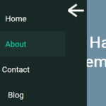 Expanding Hamburger Menu With Pure CSS