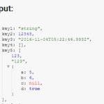 Minimal JSON Data Formatter – JSONViewer